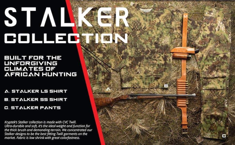 Kryptek Hunting Gear Stalker Collection