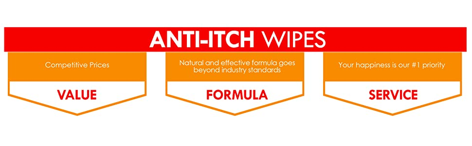 anti itch wipes formula service priority natural effective service dog cat veterinary pets value pet