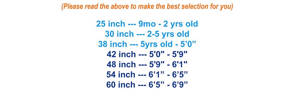 Suspender Size Guide 2