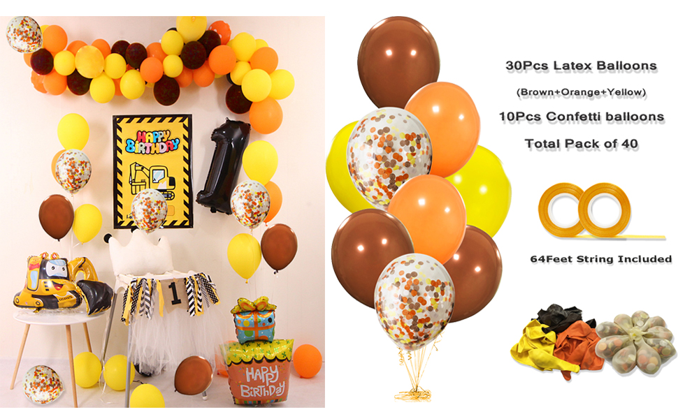 Construction Birthday Party Supplies Builder Party Favors