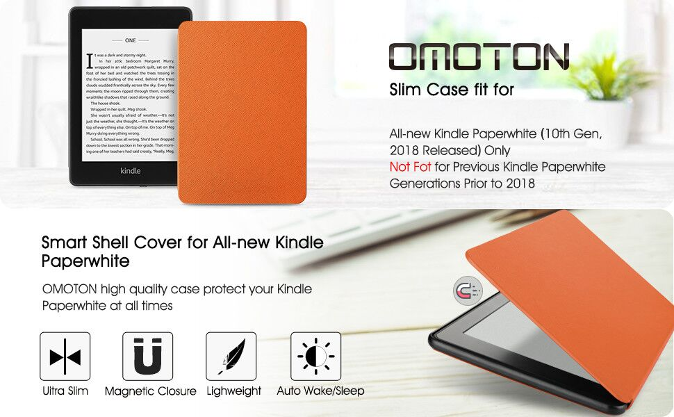 kindle paperwhite case 2018 10th generation