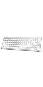 Bluetooth Keyboard with Numeric Keypad