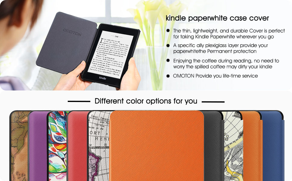 All new kindle paperwhite case cover 2018