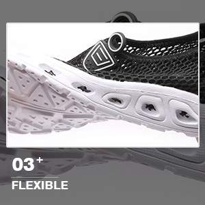 flexible summer water shoes