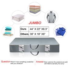 Jumbo comforter storage bag