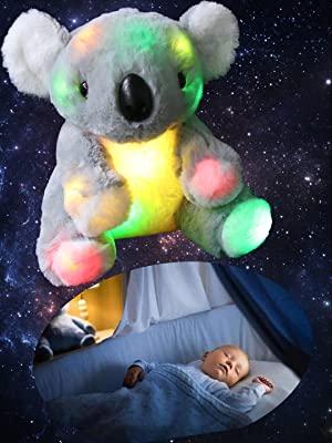light-up koala plush toy