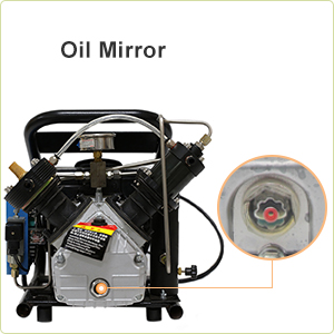Green HPDMC 4500psi High Pressure Electric Air Compressor for PCP Air Rifle Paintball SCUBA SCBA Tanks Filling