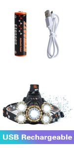 headlamps for adults led headlamp head lamp headlight flashlight bright usb rechargeable work hunt