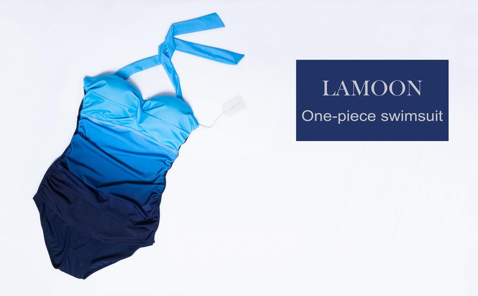 LAMOON one piece swimsuit