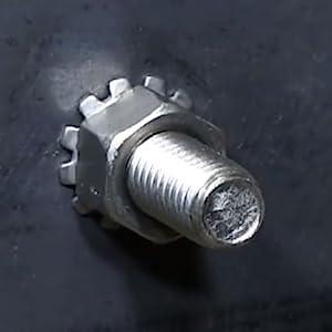 Installed K Lock Nut