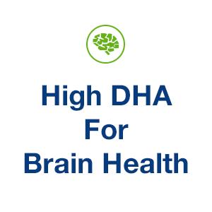 High DHA for Brain Health