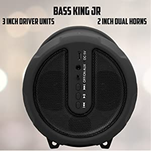 SUBWOOFER LOUD SOUND Ponentes negro speakers bass king rey bajo metal grills colorful value stereo