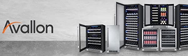 Avallon Coomplete line of Beverage and Wine Coolers