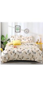 pineapple comforter set duvet insert cover kids bedding girls boys teenagers bed set pillow