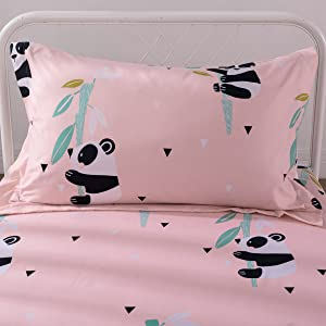 twin bedding pillow case pillowcases hypoallergenic safe for kids no harmful chemicals