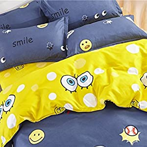 yellow bedding big star cute comfy soft cute bedding bed set duvet cover bedspread coverlet