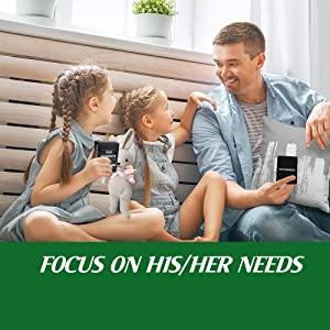 Focus on the child's needs