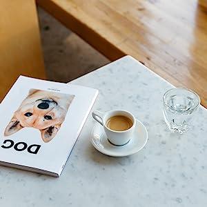 lino mug on table