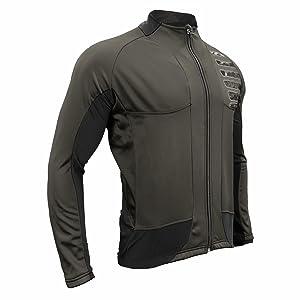 Charcoal Grey Cycling Jacket