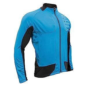 Blue Cycling Jacket