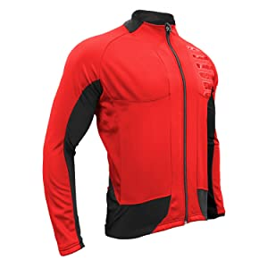 Red Cycling Jacket