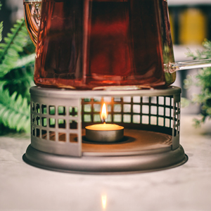 GROSCHE nairobi teapot warmer with tealight candle
