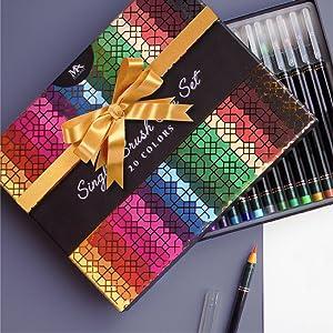 brush pen gift box