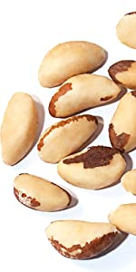 brazil nuts, food to live