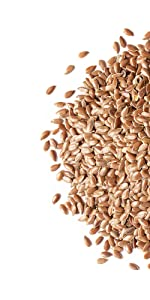flax, food to live