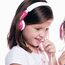 kids headphones wired max volume safe hearing loss certified Bose, beats, lilgadgets, best, premium