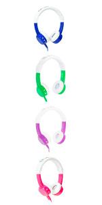 inflight kids airplane headphones volume safe max