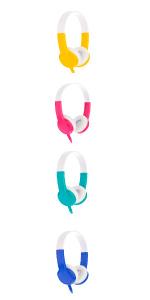 Onanoff kids headphones volume same max