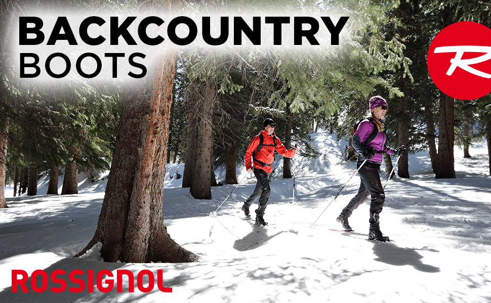 ROSSIGNOL BACKCOUNTRY NORDIC SKI BOOTS