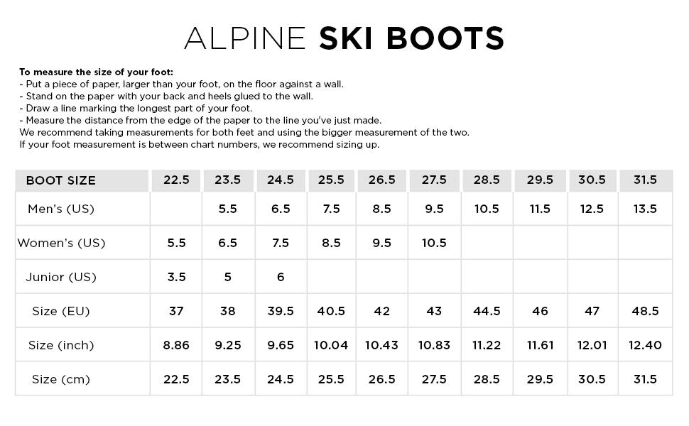 ROSSIGNOL ALPINE SKI BOOTS