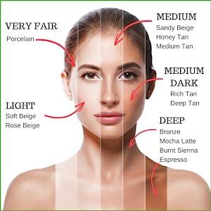 Skin2spirit organic foundation, natural, vegan, cruelty free