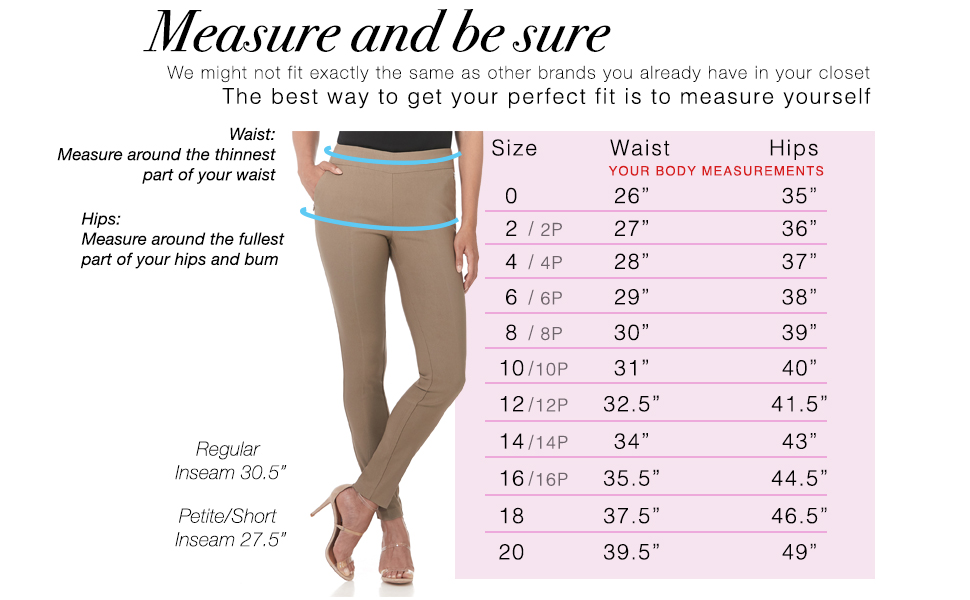 Rekucci size chart, please measure and be sure to get the best fit