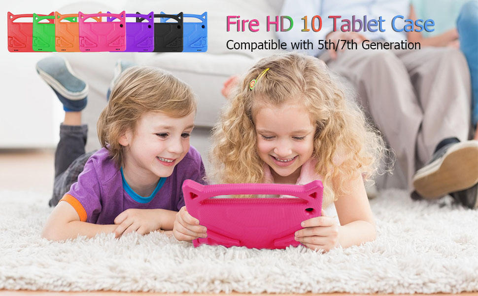 fire hd 10 tablet case for kids 2015 2017