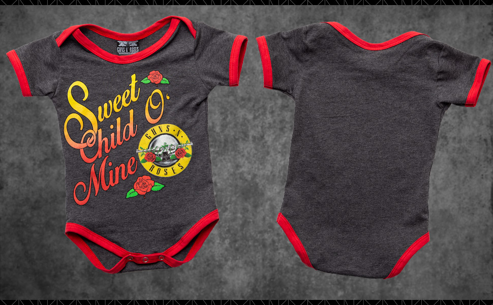 Guns N Roses Baby Onesie Sweet Child O Mine