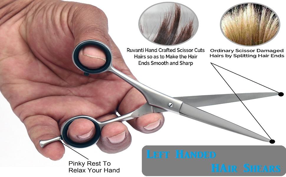 left handed hair scissors hair cutting scissor for left hand left handed scissors lefty hair scissor