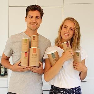 Michael Kristel Kuech founders your super superfoods cancer survivor health activists tennis player