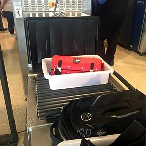 TSA, bin, travel