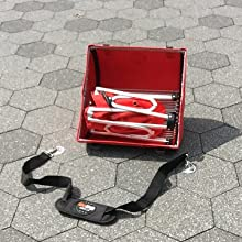 portable, grill, lid, unfolding