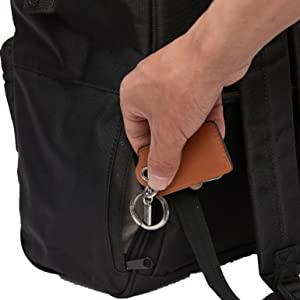Zippered pocket backpack