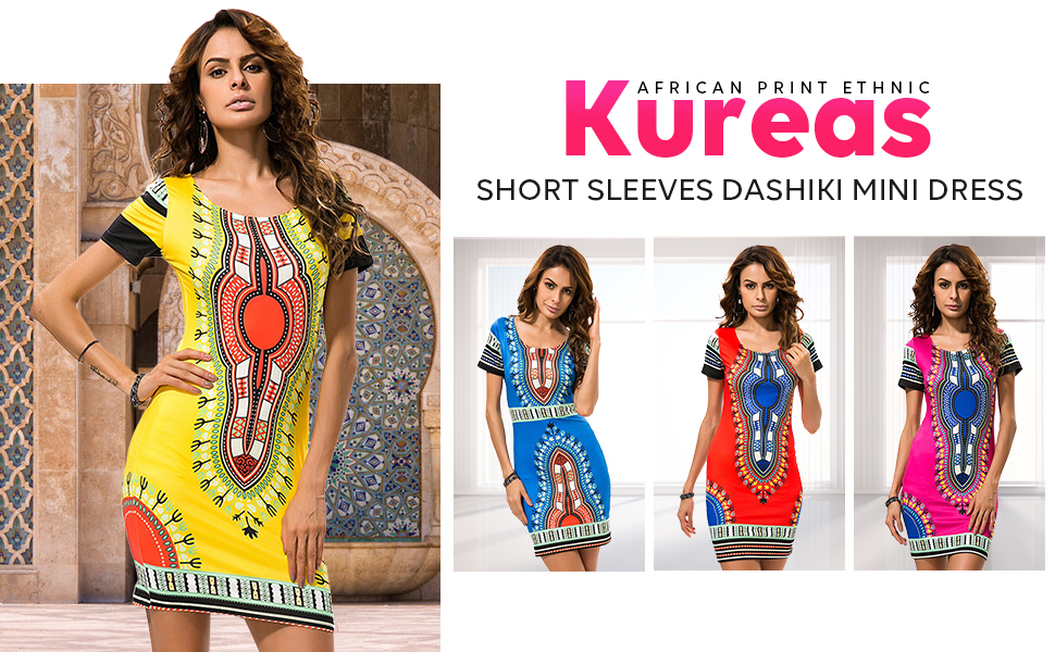 Kureas summer bodycon dress