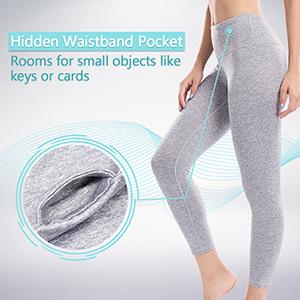 Waist Inner Pocket