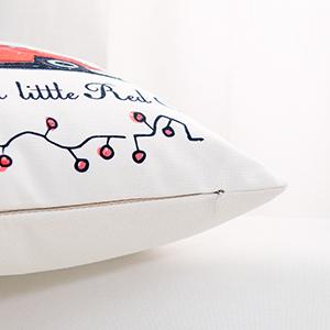 Christmas throw pillowcase