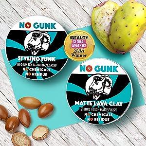 NO GUNK Styling Funk Matte Lava Clay Natural Hair Wax Natural Hair Clay