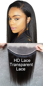 Silky Straight HD Transparent Lace Frontal Closure