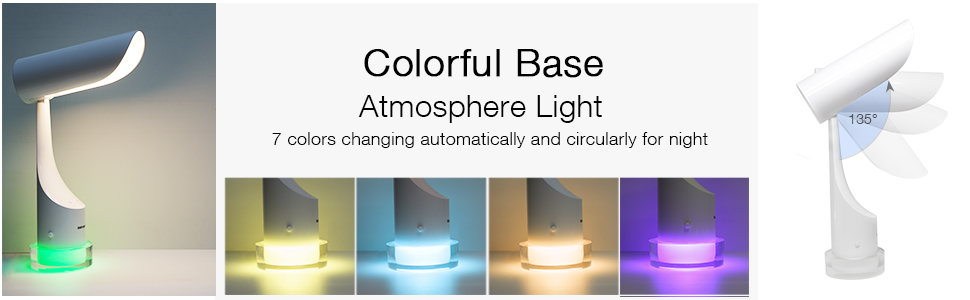 7 color atmosphere light