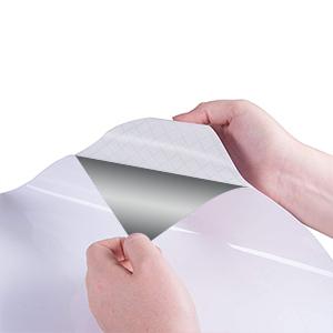 Adhesive white-board paper